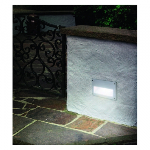 Aplica incastrabila iluminat exterior Eglo Zimba 88575 60W E14 IP44, cu 1 bec sferic 60W