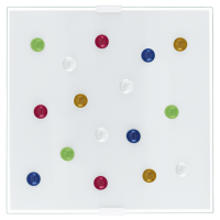 Aplica moderna Eglo Santiago 1 87306 multicolora