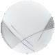 Aplica rotunda Eglo Raya 89758 argintie