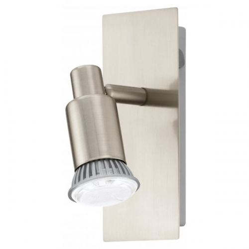 Aplica spot LED Eglo Eridan 90822 1x 3W GU10 orientabila, cu intrerupator, cu 1 bec LED economic 3W