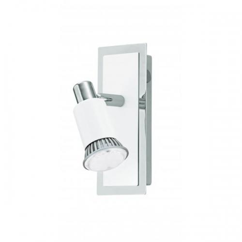 Aplica spot LED Eglo Eridan 90831 1x 3W GU10 orientabila, cu intrerupator, cu 1 bec LED economic 3W