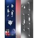 Plafoniera spot LED Eglo Eridan 90835 4x 3W GU10