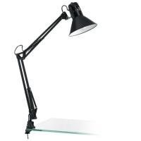 Lampa de birou neagra Eglo Firmo 90873