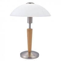 Lampa de birou moderna Eglo Solo 1 87256 1x 60W E14 cu variator de intensitate touch, cu 1 bec sferic 60W