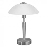 Lampa de birou moderna Eglo Solo 1 85104 1x 60W E14 cu variator de intensitate touch, cu 1 bec sferic 60W