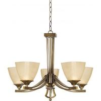 Lustra sufragerie clasica Baldo 5 KL2547 Klausen, 5xE27, bronz-crem