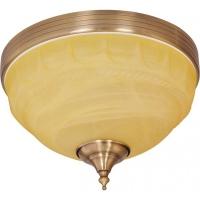 Plafoniera KL7157 Alexia PL2 Klausen/Primanova 2x60W E27 metal bronz, sticla crem