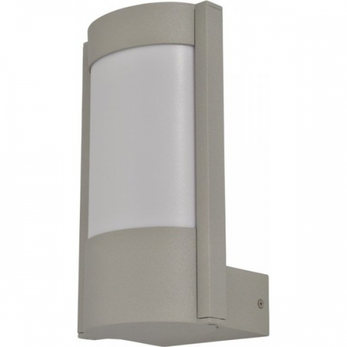 Klausen KL0610 Cleveland 1, aluminiu/alb, aplica exterior 1 bec