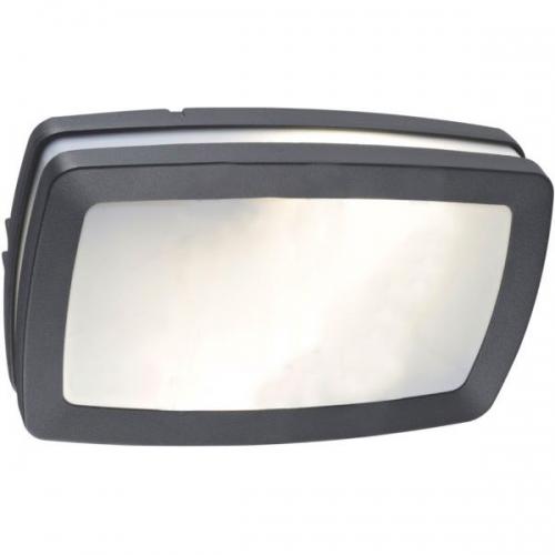 Klausen KL0632 Portland, aluminiu/negru, plafoniera 2 becuri IP54
