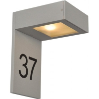 Klausen KL0618 Denver, aluminiu/alb, numar casa 1 bec